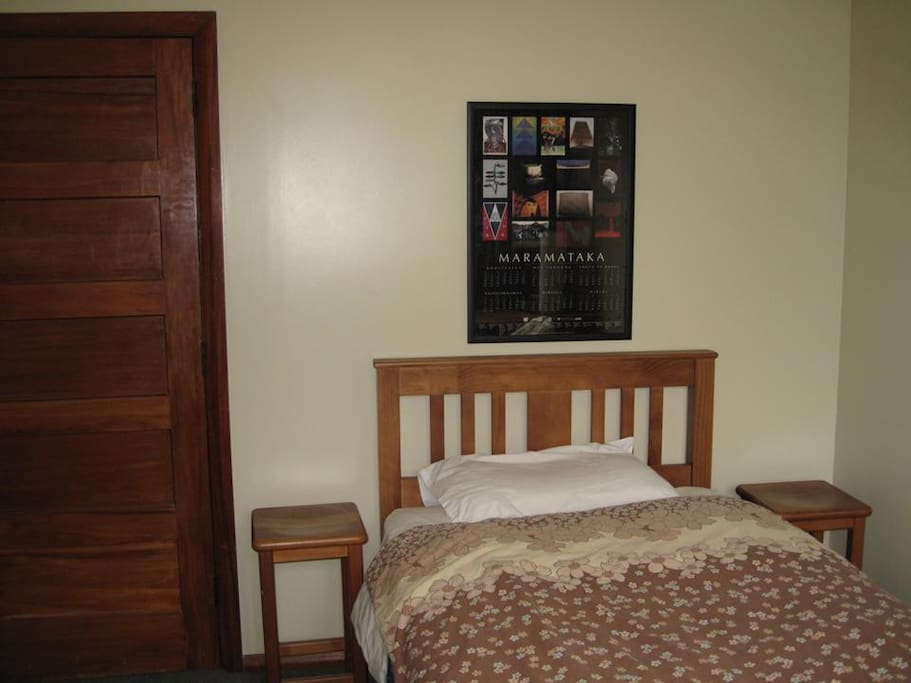 Bedroom with additional trundle bed if needed