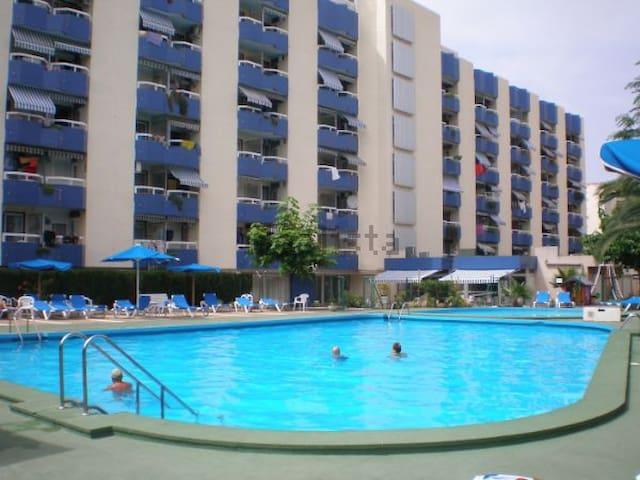 Apartamento muy céntrico 2º línea de playa - Salou - Apto. en complejo residencial