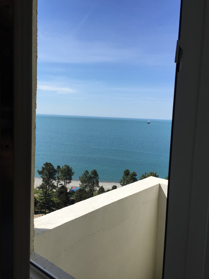Апартаменты с видом на море и сосновый парк