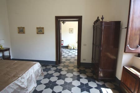 Cozy Room Holm Oak in ancient Villa - Offagna - 別荘