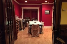 Formal Dining Room for those nights when you want to dine beautifully.