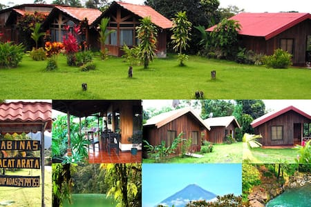 2 bedroom Cabin (1-6 people) - La Fortuna