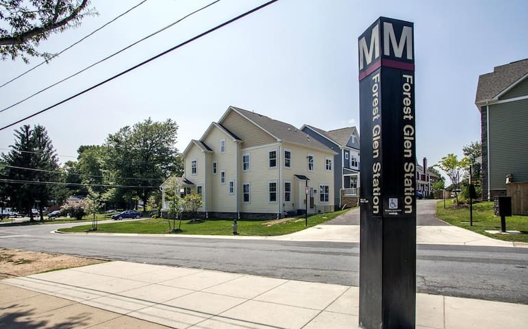 Spacious Private 1-bd apt at Metro - Silver Spring - Leilighet
