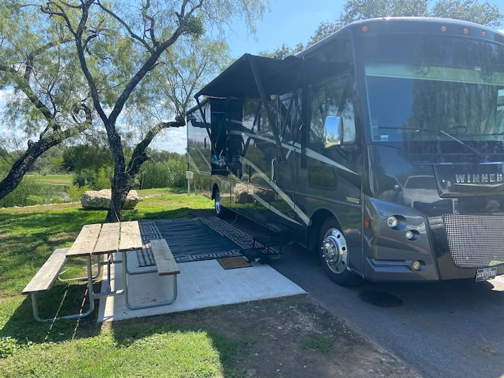 Unique RV Escape on Lake Travis