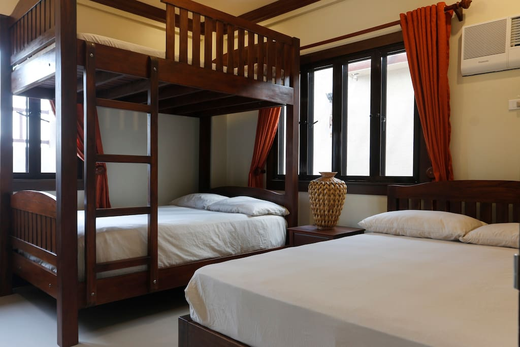 This first bedroom is ideal for group of friends, hardwood bed frames. Comfortable bed to give you a hotel like feel when ever you ate staying in our place