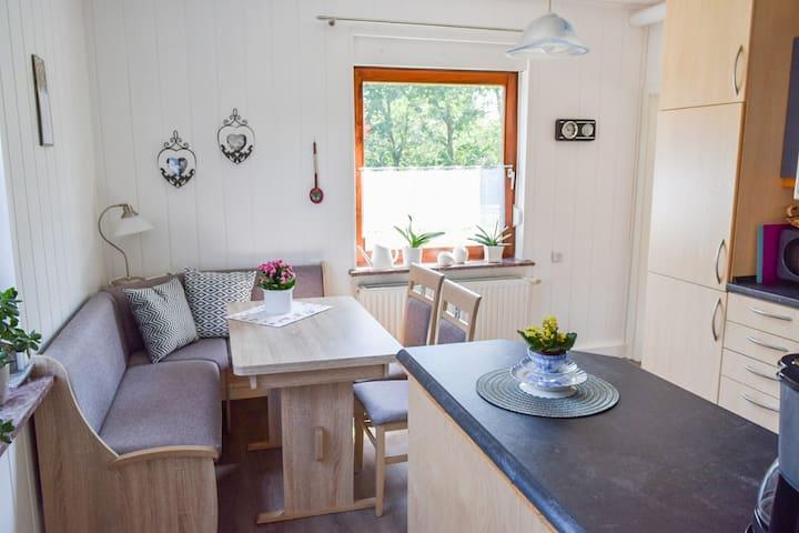Sitzbereich in der Wohnküche