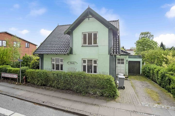 Charming cosy house  1 h CPH opposite  the forest - Dianalund - Rumah