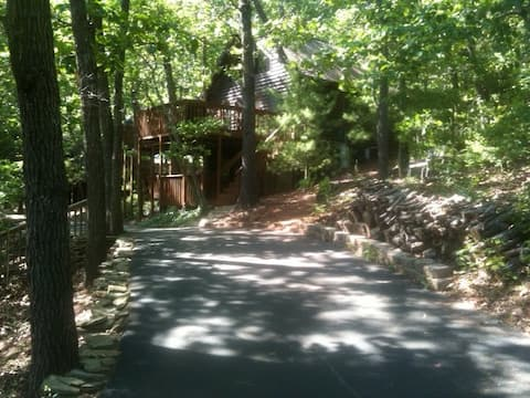Cabin in the woods-near Tablerock Lake