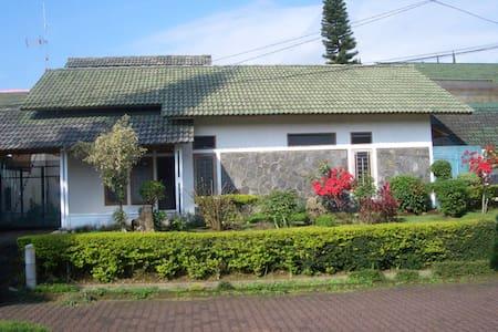 Villa Green apple Garden, Cipanas. - Villa