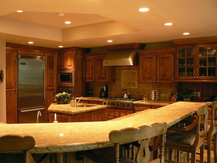 Fabulous kitchen.