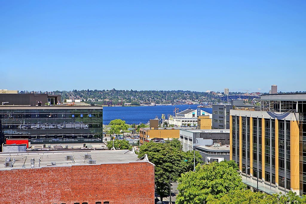 Incredible vistas of South Lake Union and Seattle's fastest growing neighborhood!