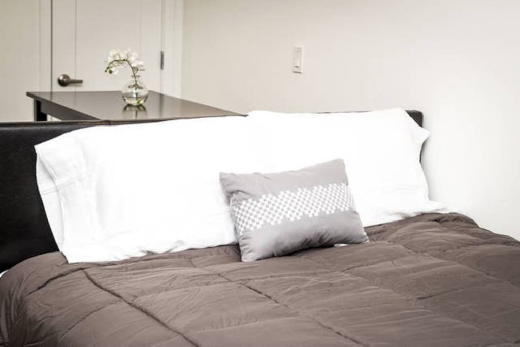 Additional Queen Bed with ultra comfortable pillow top mattress!