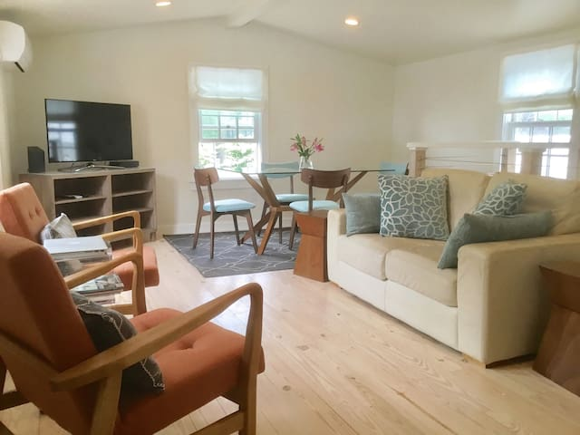 NEW! Private oasis 2BR/2BA Steps to beach. Parking
