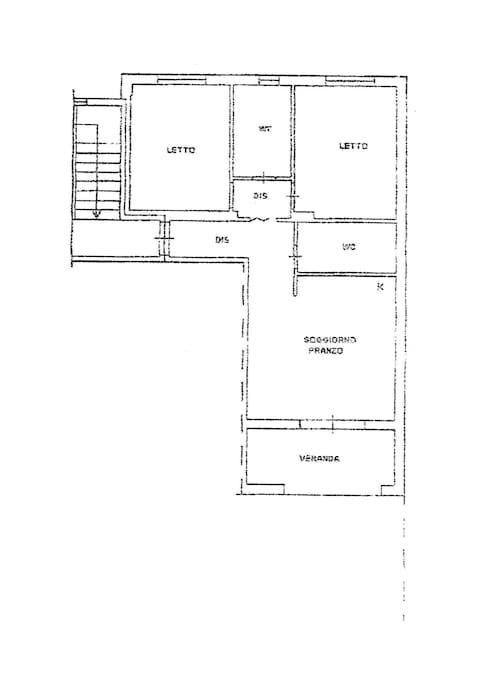 Pianta appartamento / Plant