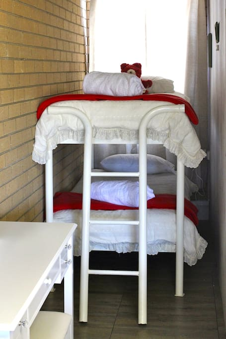 Bunks with electric blankets on all the beds