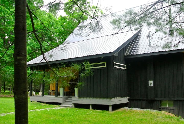modern and secluded upstate getaway
