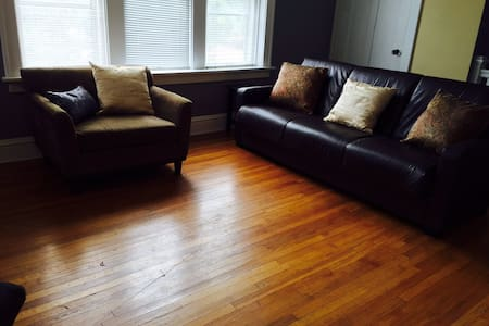 Lovely furnished 2BR apartment, 2F - St Louis