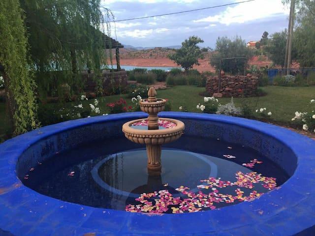 méditation sur un site paradisiaque - Tadla-Azilal - Byt