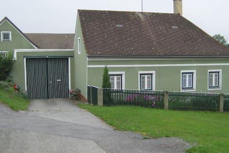 Ferienwohn. ehem.Bauernhaus/Hpthaus - Ház