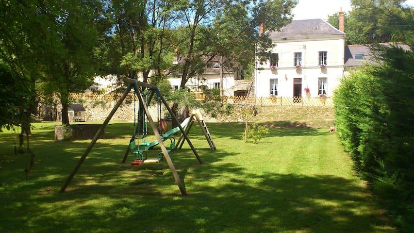 Maison de charme au bord de l'Indre - Azay-le-Rideau - Rumah