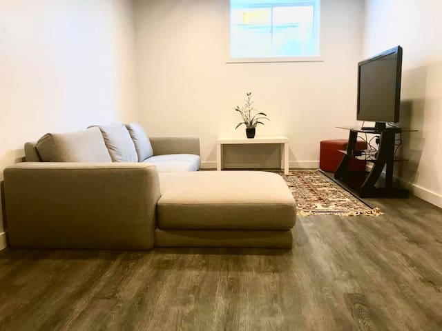 Two bedroom basement apartment in NorthWest London