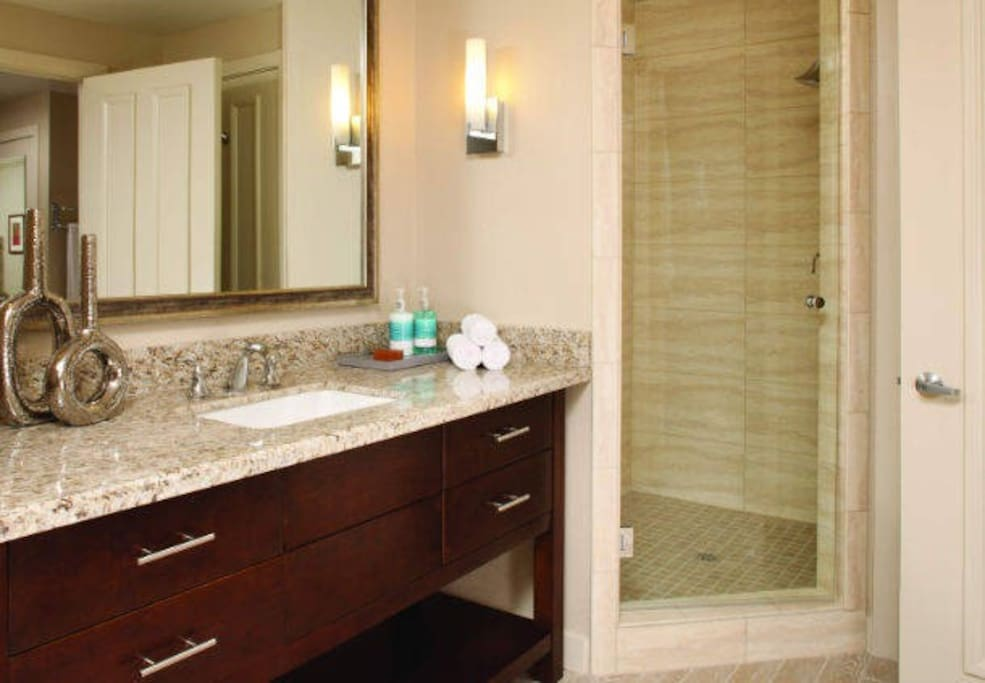 Example Villa Master Bathroom