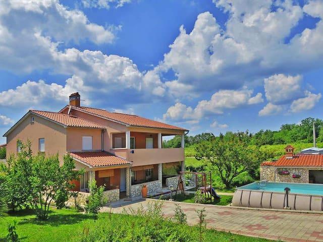 House in flowers with pool - Nedešćina - House