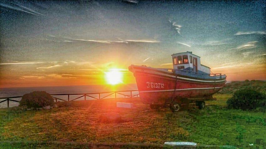 La cabaña ,el descanso del mar