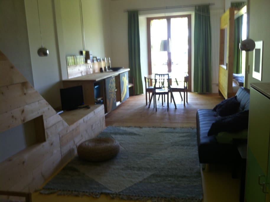 wohnen im gartenparadies in seen he loft in affitto a konstanz baden w rttemberg germania. Black Bedroom Furniture Sets. Home Design Ideas