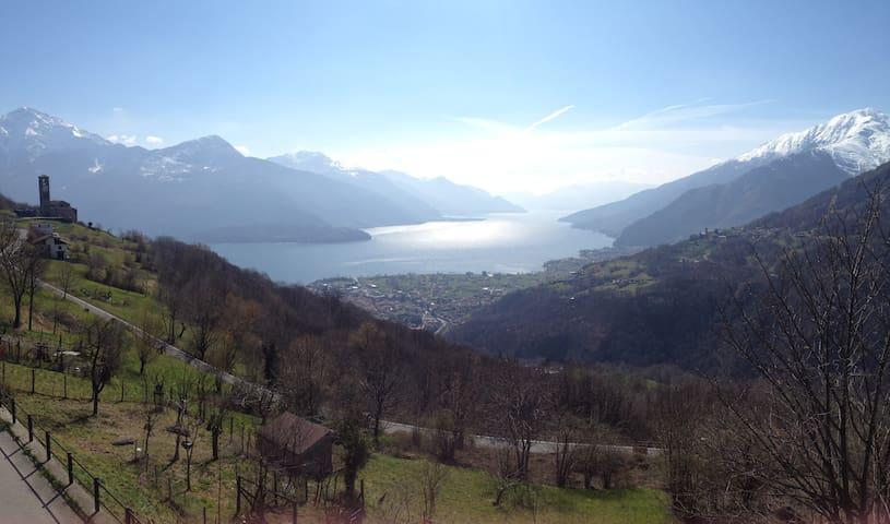 Ca' de l'ör - Casa vacanze sul Lago di Como - Peglio - Huis