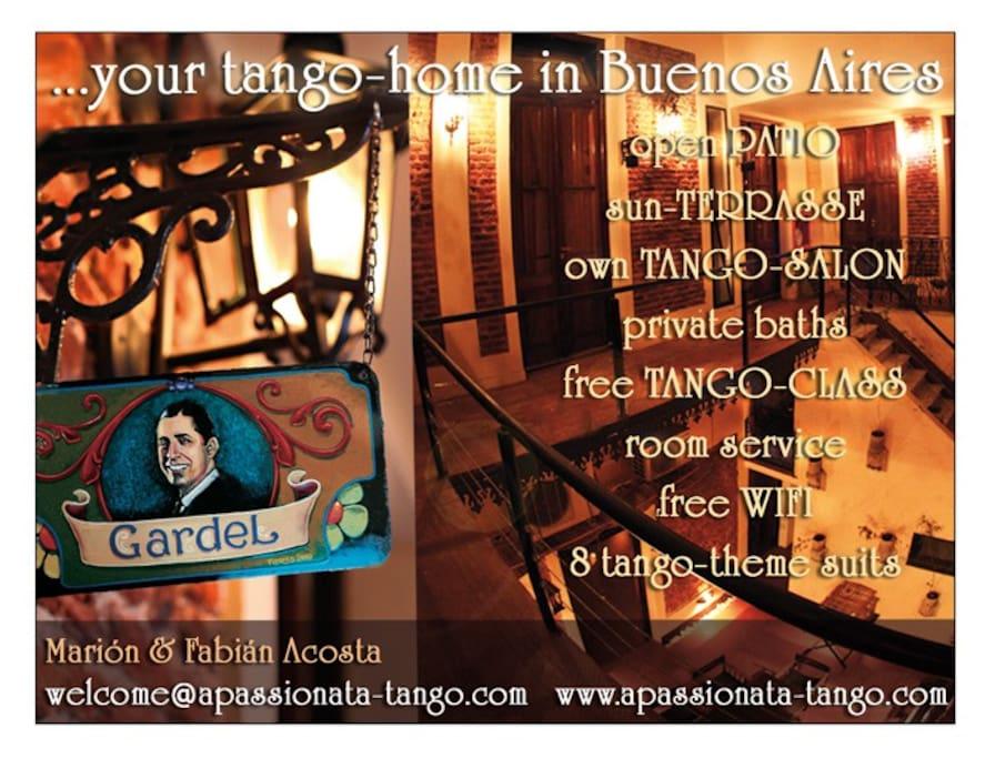 Apassionata-Tango Hotel in Buenos Aires