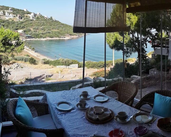 BODRUM Milas Boğaziçi Köyü Zergül Kent 2 ALT KAT