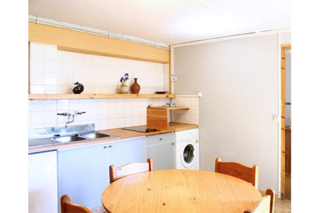 La cuisine-séjour