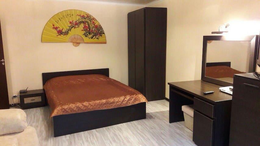 1 room luxury studio.Jacuzzi.Centre - Харків - Apartment