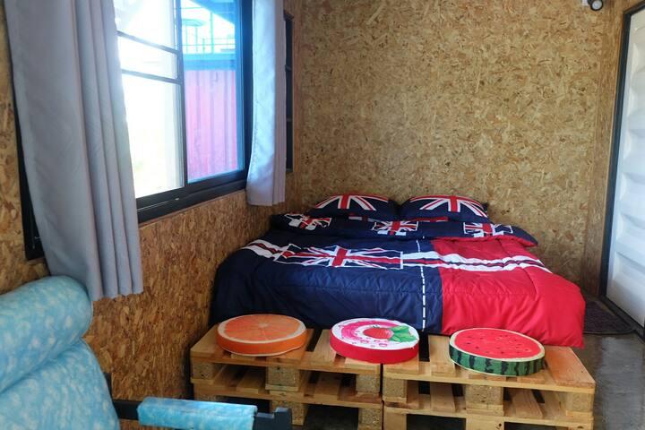 ห้องพักเตียงใหญ่ 1เตียงสำหรับ 2คน