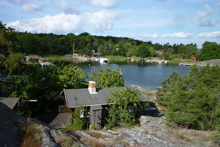 Lovely cottage surrounded by sea - Värmdö SO - Haus