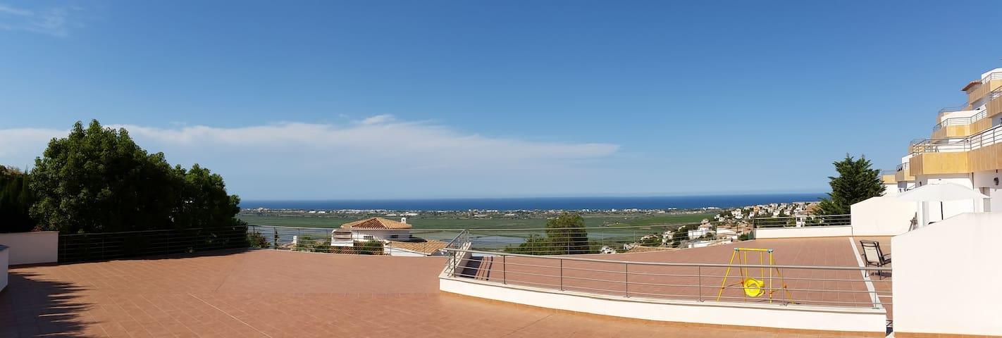 Apartamento terraza 300 m2 y vistas - Pego - Apartamento