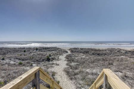 Greet the Dolphins at Our Serene Ocean View Condo - Holden Beach - Condominium