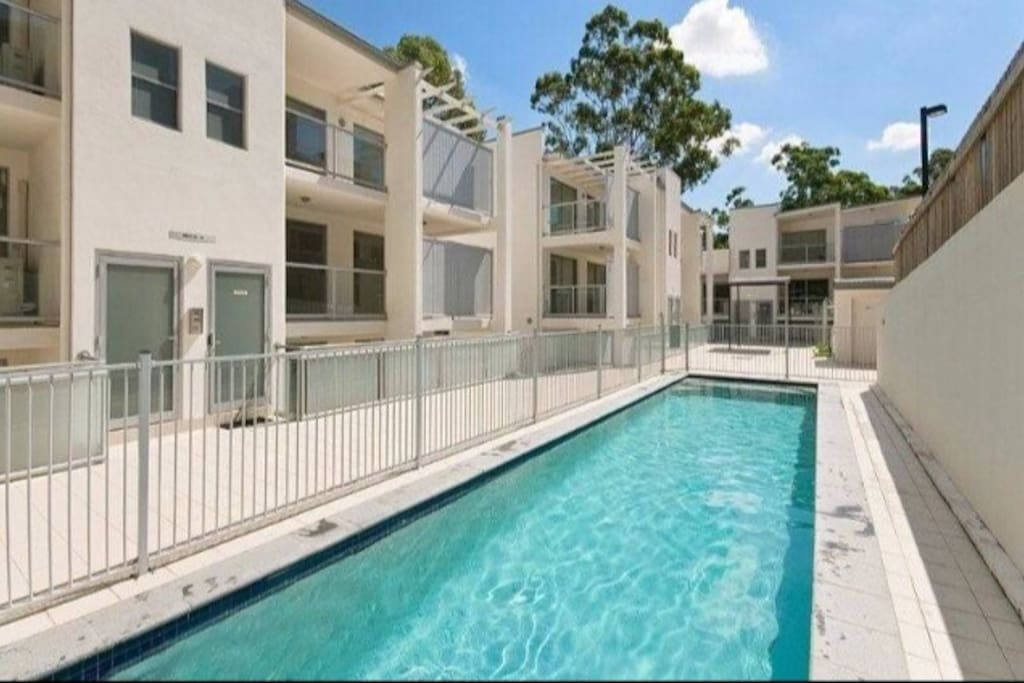 "Welcome to Your Modern Stylish ""Home"" Set in A Quiet & Safe Complex of Brisbane Inner City Suburb."