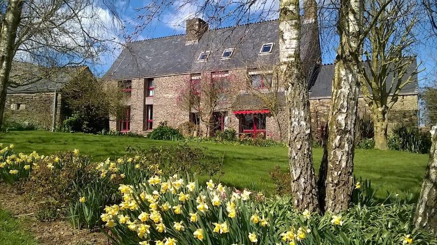 Chambre double à la ferme de Créac'h-Gourles - Plouvorn - Pis