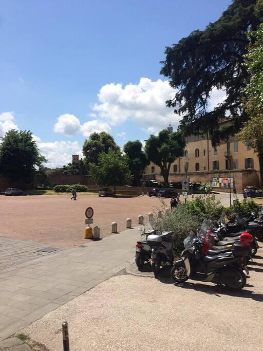 vista sulla Piazza San Francesco