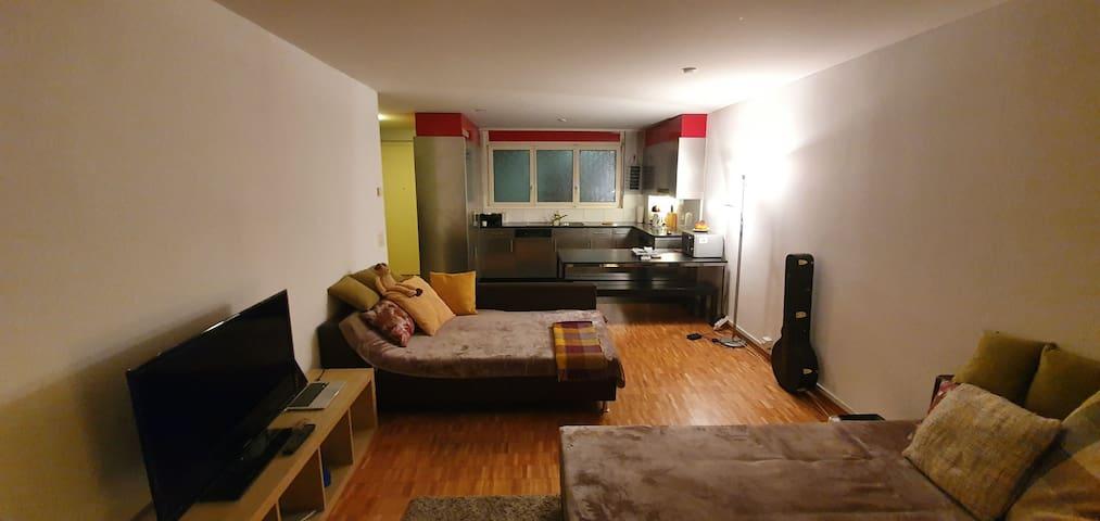 Schöne zentral gelegene Wohnung