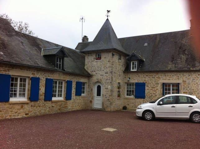 Maison en pierre de caractére - Picauville - Haus