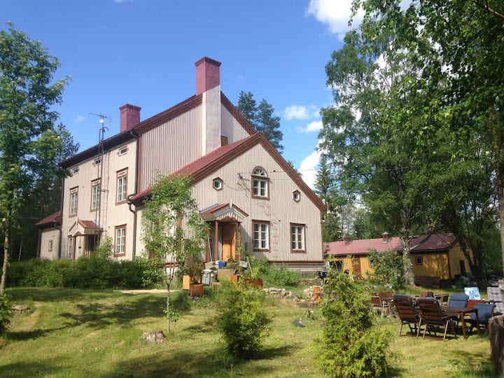 Lake Saimaa Country Villa in Sulkava, East Finland