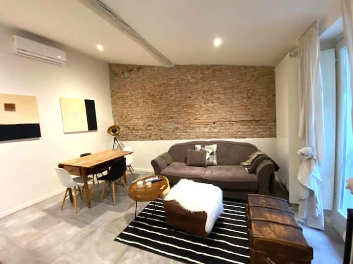 Cozy one-bedroom apartment in historical center