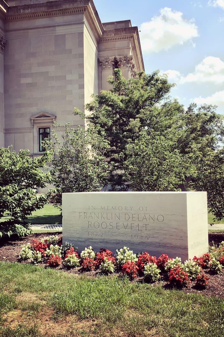 The original FDR Memorial