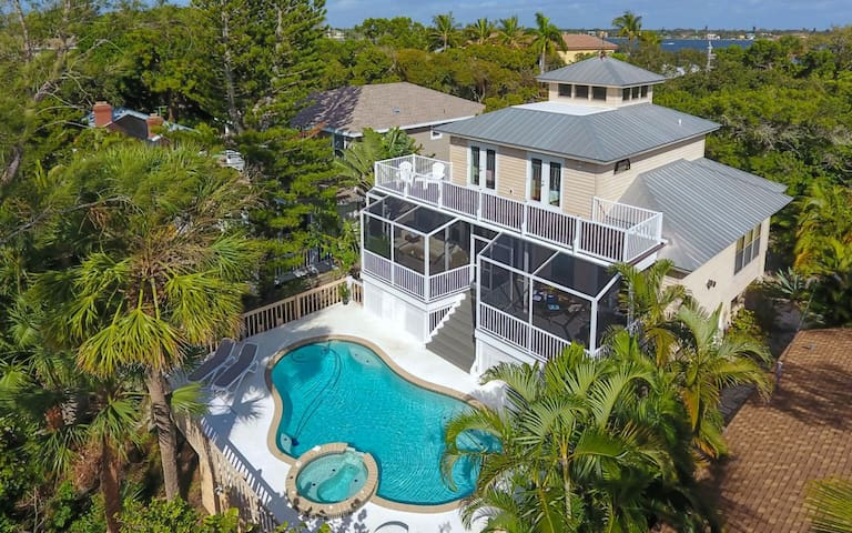 Siesta Key Complete House private Pool Jacuzzi 3BR