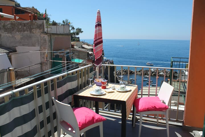 Amazing Apt. on the sea Riomaggiore - Riomaggiore - Apartment