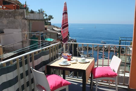 Amazing Apt. on the sea Riomaggiore - Riomaggiore - Appartement
