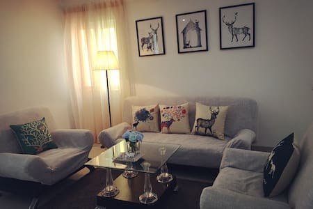 Modern+Convenient+Central/Romantic view apartment - Haikou Shi - Apartamento